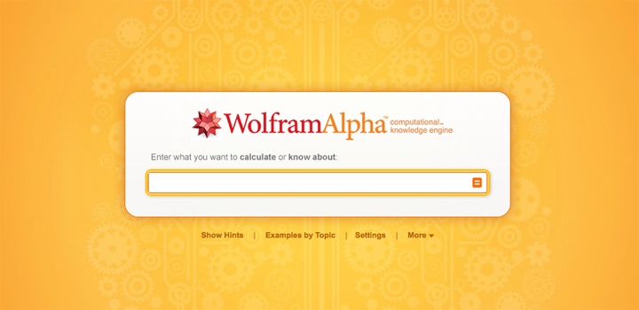 Wolfram Alpha Design